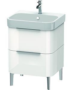 Duravit Happy D.2 Duravit Happy D.2 H2637102222 57,5x57,3x48cm, white high gloss, 2 drawers