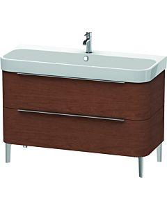 Duravit Happy D.2 Waschtischunterbau H2637501313 117,5x57,3x48cm, Amerik. Nussbaum, 2 Schubkästen
