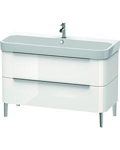 Duravit Happy D.2 Waschtischunterbau H2637502222 117,5x57,3x48cm, weiß hochglanz, 2 Schubkästen