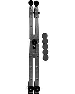 Duravit shower base, height adjustable 100 - 185 mm