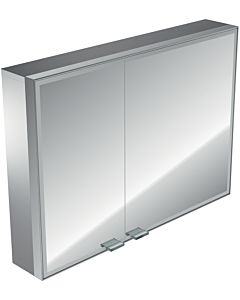 Emco Asis Prestige Spiegelschrank 989706013 887 x 637 mm, ohne Radio, Aufputzmodell, LED