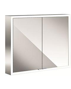 Emco Asis Prime Spiegelschrank 949706162 800x700mm, Aufputz, mit Lichtpaket, weiße Rückwand