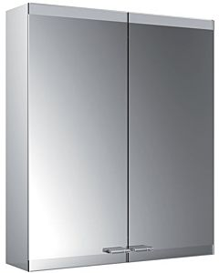 Emco Asis Evo Aufputz-Lichtspiegelschrank 939708003 600x700mm, ohne Spiegelheizung, 2-türig, ohne lightsystem