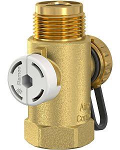 Flamco Airfix Anschluss-Set Control 28930 für Airfix A und D, komplett, mit Absperrung und Entleerung