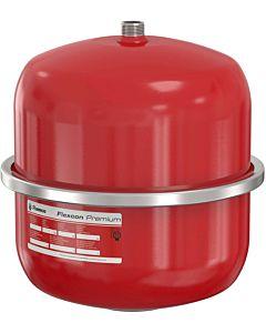 Flamco Flexcon Druckausdehnungsgefäß 16942 8 l, 6 bar, R 3/4, Vordruck 2,5 bar, rot