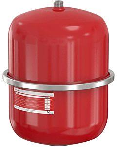Flamco Flexcon Druckausdehnungsgefäß 16014 12 l, 6 bar, R 3/4, Vordruck 2,5 bar, rot