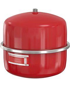 Flamco Flexcon Druckausdehnungsgefäß 16027 25 l, 6 bar, R 3/4, Vordruck 2,5 bar, rot