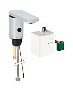 Geberit Typ 186 Infrarot-Waschtischarmatur 116336211 Generator, ohne Mischer, hochglanz-verchromt