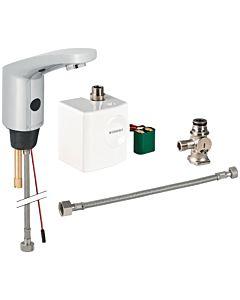 Geberit Typ 185 infrarouge mitigeur lavabo 116365211 générateur, avec mélangeur sous le comptoir, chromé brillant