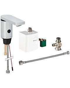 Geberit Typ 186 infrarouge mitigeur lavabo 116366211 générateur, avec mélangeur sous table, chromé brillant