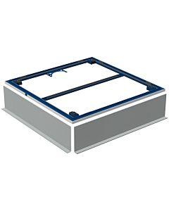 Geberit Setaplano Installationsrahmen 154480001 100x100cm für Duschflächen Setaplano, für 4 Füße