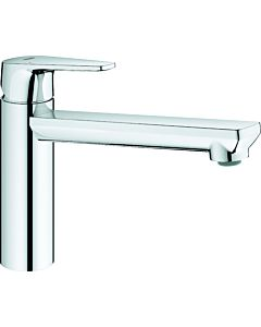 Grohe BauEdge single-lever sink mixer 31693000 chrome, swiveling, medium-high spout