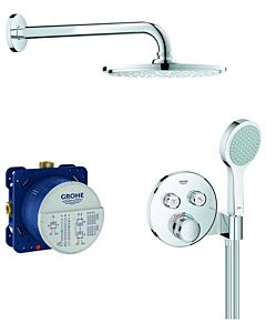 Grohe Grohtherm Smartcontrol UP-Duschsystem 34743000 mit Unterputz-Thermostat, chrom