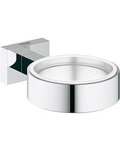 Grohe Essentials Cube Halter 40508001 chrom, für Glas, Seifenpender oder Seifenschale