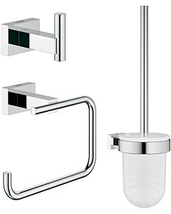 Grohe Essentials Cube 3 in 1 WC-Set 40757001 chrom