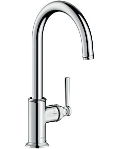 hansgrohe Axor Montreux kitchen mixer 16580000 chrome, swivel range adjustable