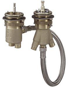 hansgrohe base Axor 15486180 DN 15, pour mitigeur bain-marie à 2 trous avec thermostat