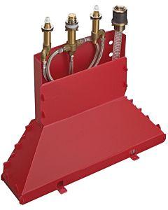 hansgrohe Grundkörper für 4-Loch-Armatur 13444180 Wannenrandmontage, DN15