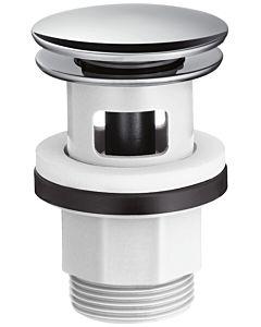 Hansgrohe Push Open Ablaufgarnitur 50105000 chrom, glasfaserverstärkter Kunststoff