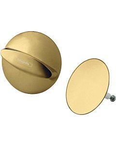 hansgrohe Flexaplus 58185990 polished gold optic, waste / overflow set