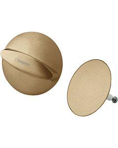 hansgrohe Flexaplus Fertigmontageset 58185140 brushed bronze, Ab-/Überlaufgarnitur