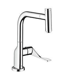 Axor Citterio Select Küchenarmatur 39861000 chrom, mit Ausziehbrause