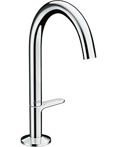 hansgrohe Axor One basin mixer 48020000 projection 140mm, with push-open waste set, chrome