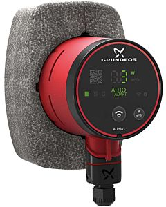 Grundfos Alpha3 high-efficiency circulation pump 99371908 15-40, 130 mm, 230 V / 50 Hz