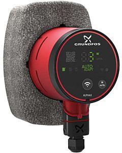 Grundfos Alpha3 high-efficiency circulation pump 99371924 25-80, 130 mm, 230 V / 50 Hz