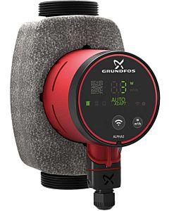 Grundfos Alpha3 32-40 180 pompe de circulation à haut rendement 99371943, 180 mm, 230 V, 50 Hz