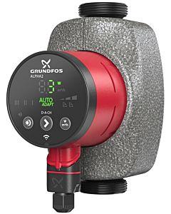 Grundfos Alpha 2 25-80 Hocheffizienzpumpe 99261732 180mm, 230V, 50Hz, 6H, D-A-CH, Modell 2017