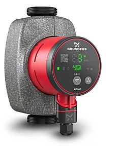 Grundfos Alpha3 32-60 180 high efficiency circulation pump 99371944, 180mm, 230 V, 50 Hz