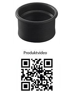 HAAS Rollfix-Verbinder 5143 DN 100, für HT und KG-Rohre, EPDM, schwarz