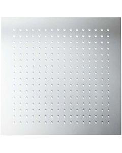Herzbach Living Spa Kopfbrause 11600200201 chrom, 200 x 200 mm, Slim 8 mm, Clean-Effekt