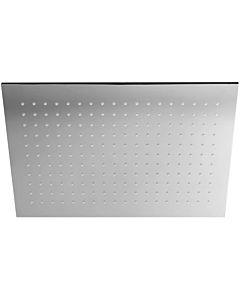 Herzbach Living Spa Kopfbrause 11600450201 chrom, 450 x 300 mm, Slim 8 mm, Clean-Effekt