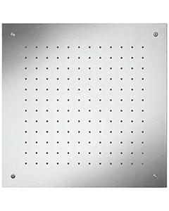 Herzbach Living Spa iX Regenbrause 11650000209  edelstahl gebürstet, 50 x 50 cm, Deckeneinbau