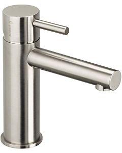 Herzbach Design iX Waschtischarmatur 17133200109 Edelstahl gebürstet, ohne Ablaufgarnitur