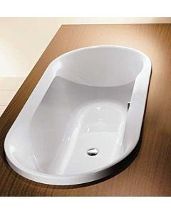 Hoesch Spectra Oval Badewanne 6480.010 weiß, Einbauversion