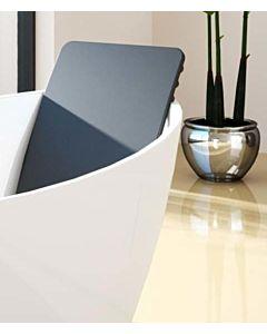 Hoesch Rückenlehne Namur 69194 676 x 360 mm, Material Polyurethan schwarz