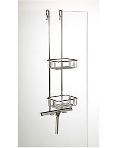 Hüppe Ablagesystem 492001091 für den Duschbereich, chrom
