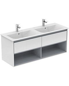 Ideal Standard Connect Air Waschtischunterschrank E0831B2, weiss glänzend/weiss matt, 2 Auszüge