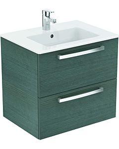 Ideal Standard Eurovit Plus meubles emballage K2979SG chêne décor anthracite, 61x56,5x45cm