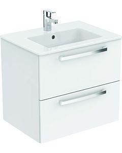 Ideal Standard Eurovit Plus Möbelpaket K2979WG Hochglanz weiß lackiert, 61x56,5x45cm