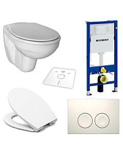 Ideal Standard Éurovit WC Komplett-Set mit Vorwandelement und WC-Sitz