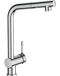 Ideal Standard CeraLook kitchen mixer BC176AA with high spout and pull-out hand shower, projection 207 mm, chrome-plated