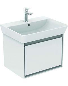 Ideal Standard Connect Air Waschtischunterschrank E0846PS, Eiche grau Dekor/weiss matt, 1 Auszug