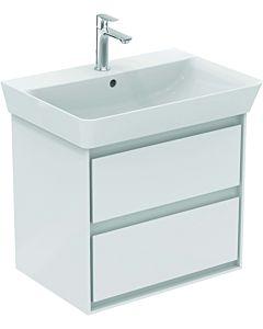 Ideal Standard Connect Air Waschtischunterschrank E1605B2, weiss glänzend/weiss matt, Cube