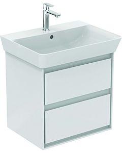 Ideal Standard Connect Air Waschtischunterschrank E1606B2 2 Auszüge, 530x517x409mm, weiß glänzend/weiß matt