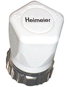 Heimeier Handregulierkappe 200100325  mit Rändelmutter, weiss