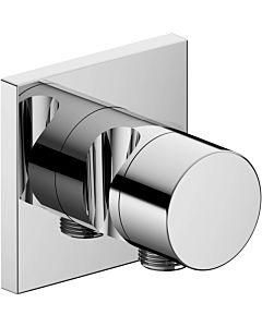 Keuco IXMO 2-Wege Ab-/Umstellventil 59557010202 Unterputz, mit Schlauchanschluss und Brausehalter